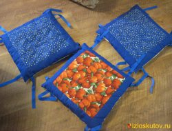 Сидушка на табурет и стулья