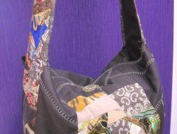 "Лоскутная сумка ""Спираль"" № 118"