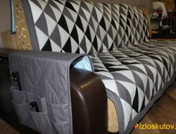 На диван и/или кресло лоскутное одеяло / покрывало / плед