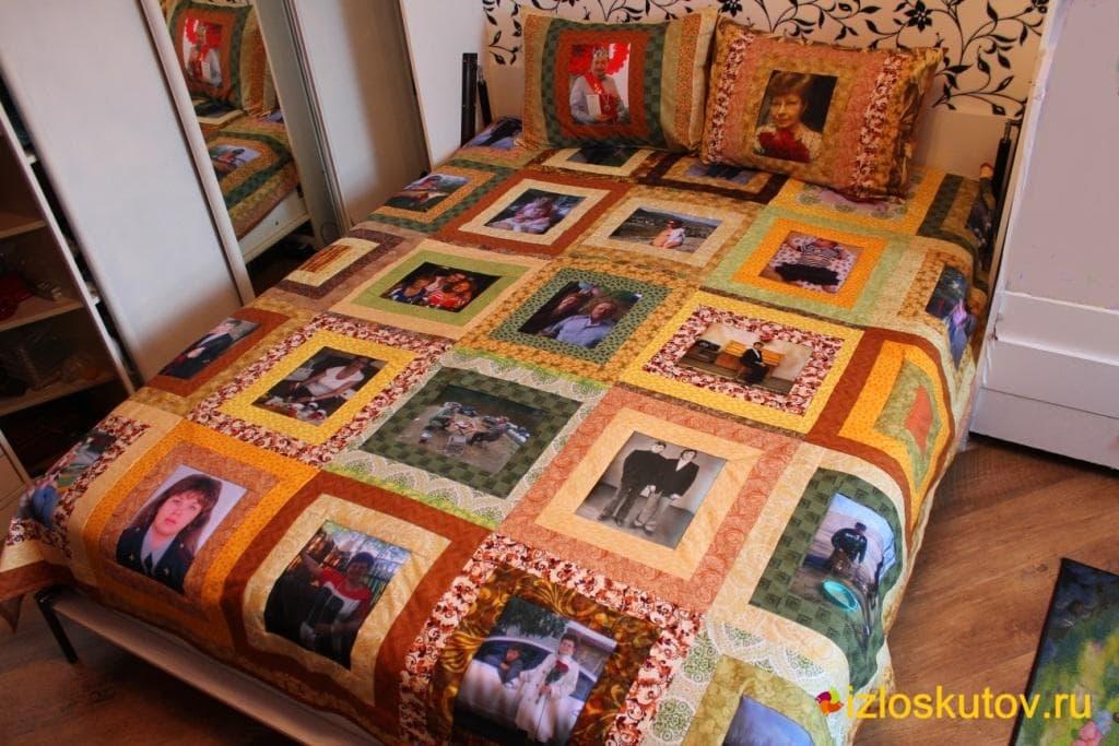 Лоскутное одеяло мастер класс фото