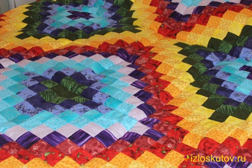 Как сделать одеяло пэчворк
