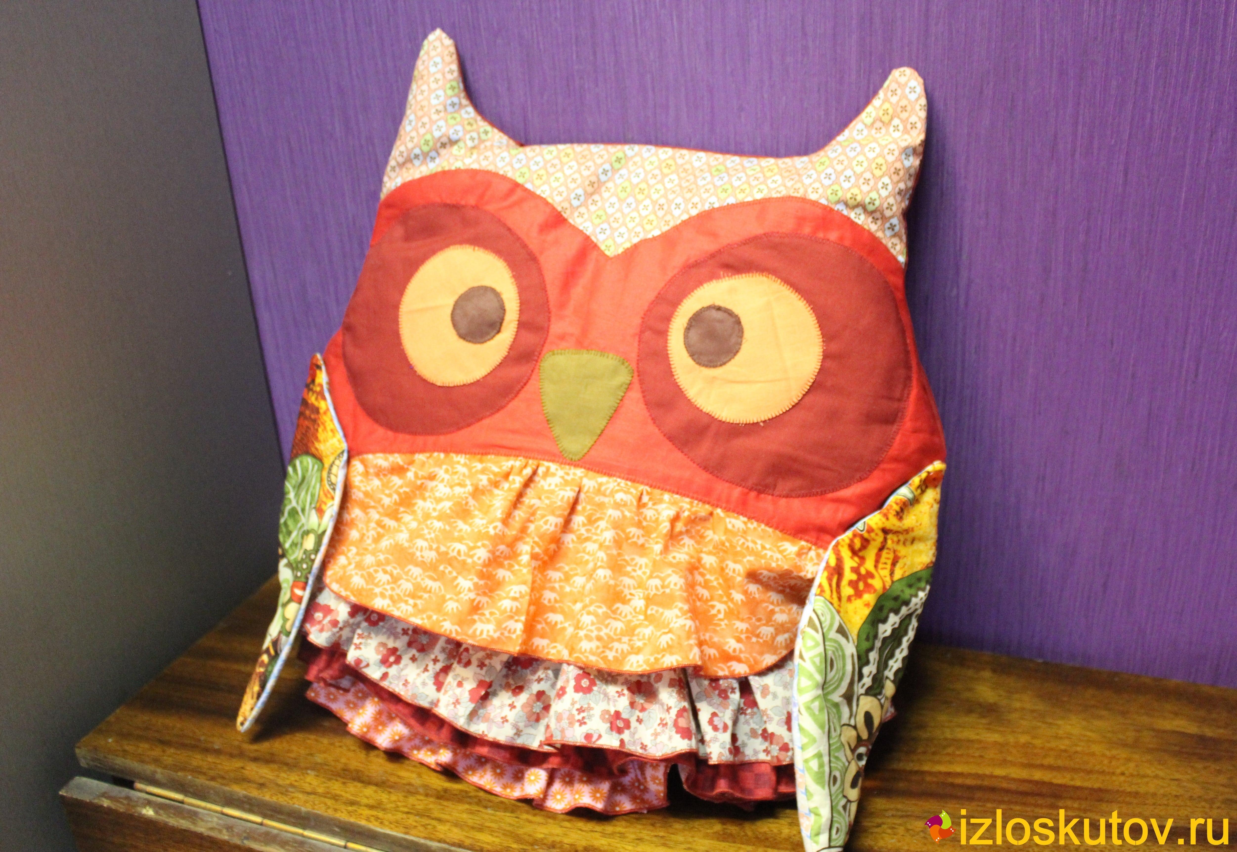 Детские лоскутные подушки