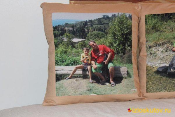 """Наволочка с фото """"Муж и жена"""" № 238"""