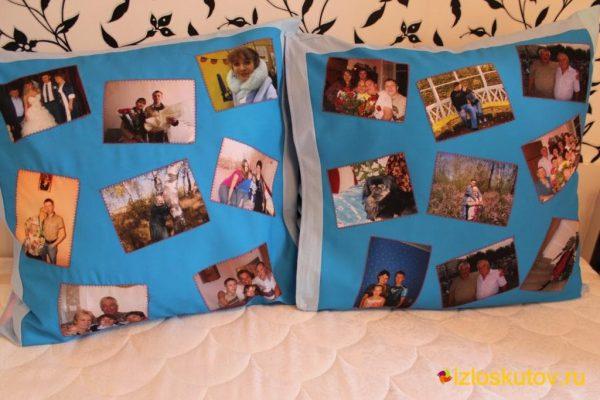 "Наволочки с фото ""Коллаж для бабушки"" № 240"