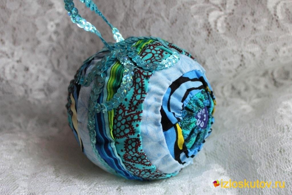 "Ёлочная игрушка ""Морская пена"" № 250"