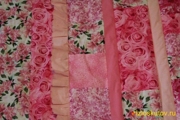 """Покрывало с фото для девочки """"Розовые розы"""" № 302"""