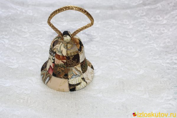 "Колокольчик на ёлку ""Звонарь"" № 313"
