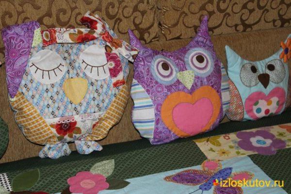 "Детские подушки ""Семья Совуньи"" № 371"
