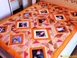 """Покрывало / одеяло с фотографиями """"Морошка"""" № 479"""