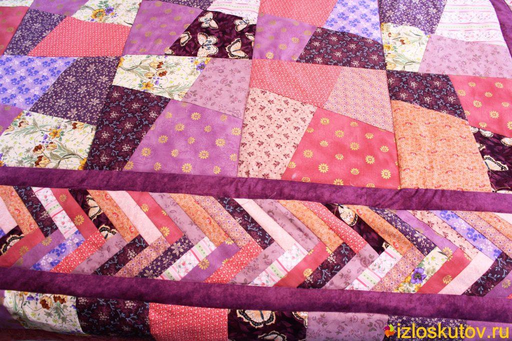 Шьем лоскутное одеяло своими руками 35