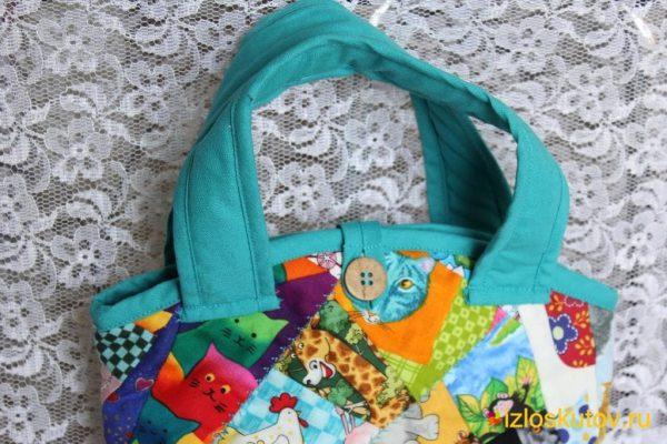 """Детская сумочка """"Маленькая сумочка"""" № 1045"""