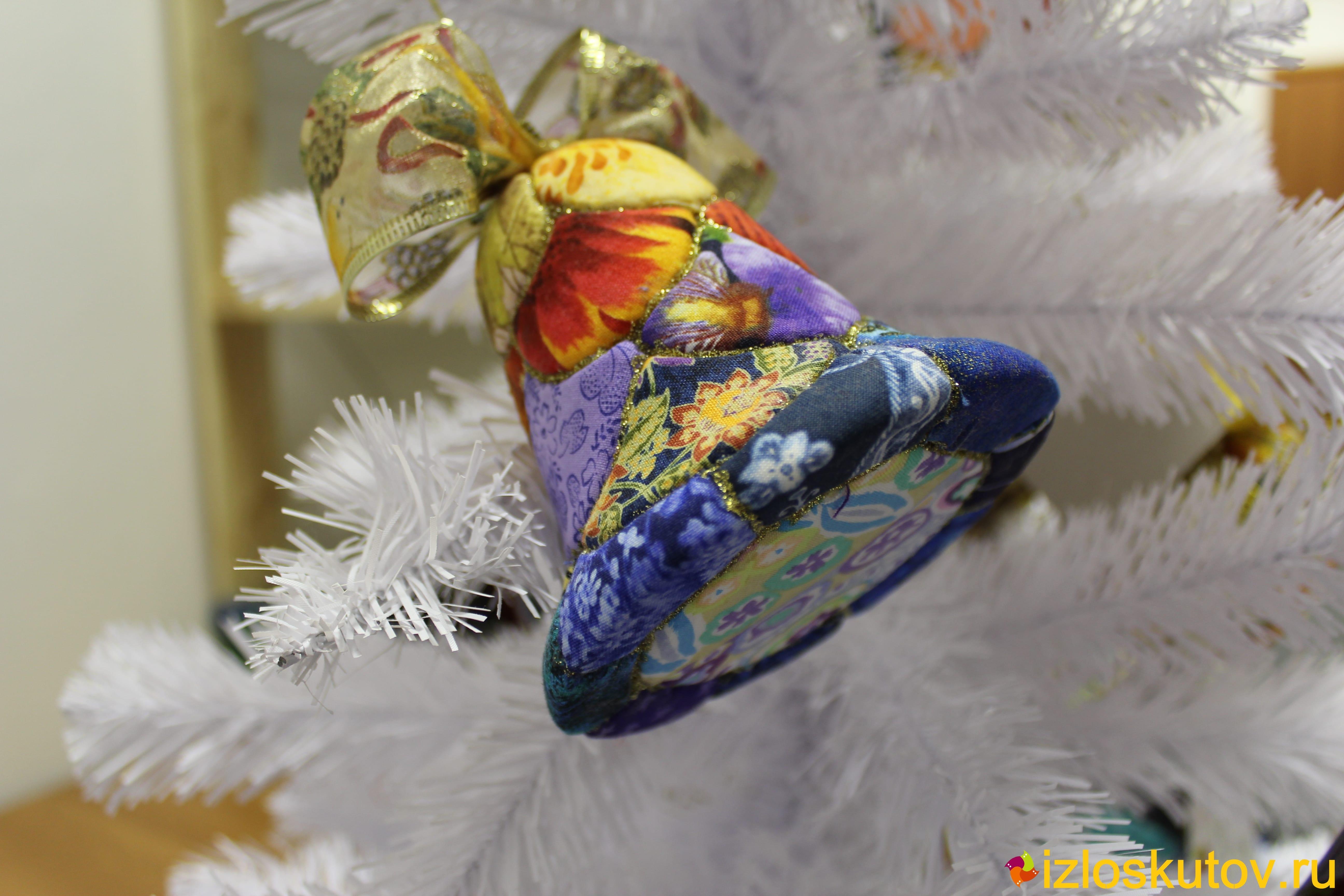 """Ёлочная игрушка """"Золотая рыбка"""" № 366"""