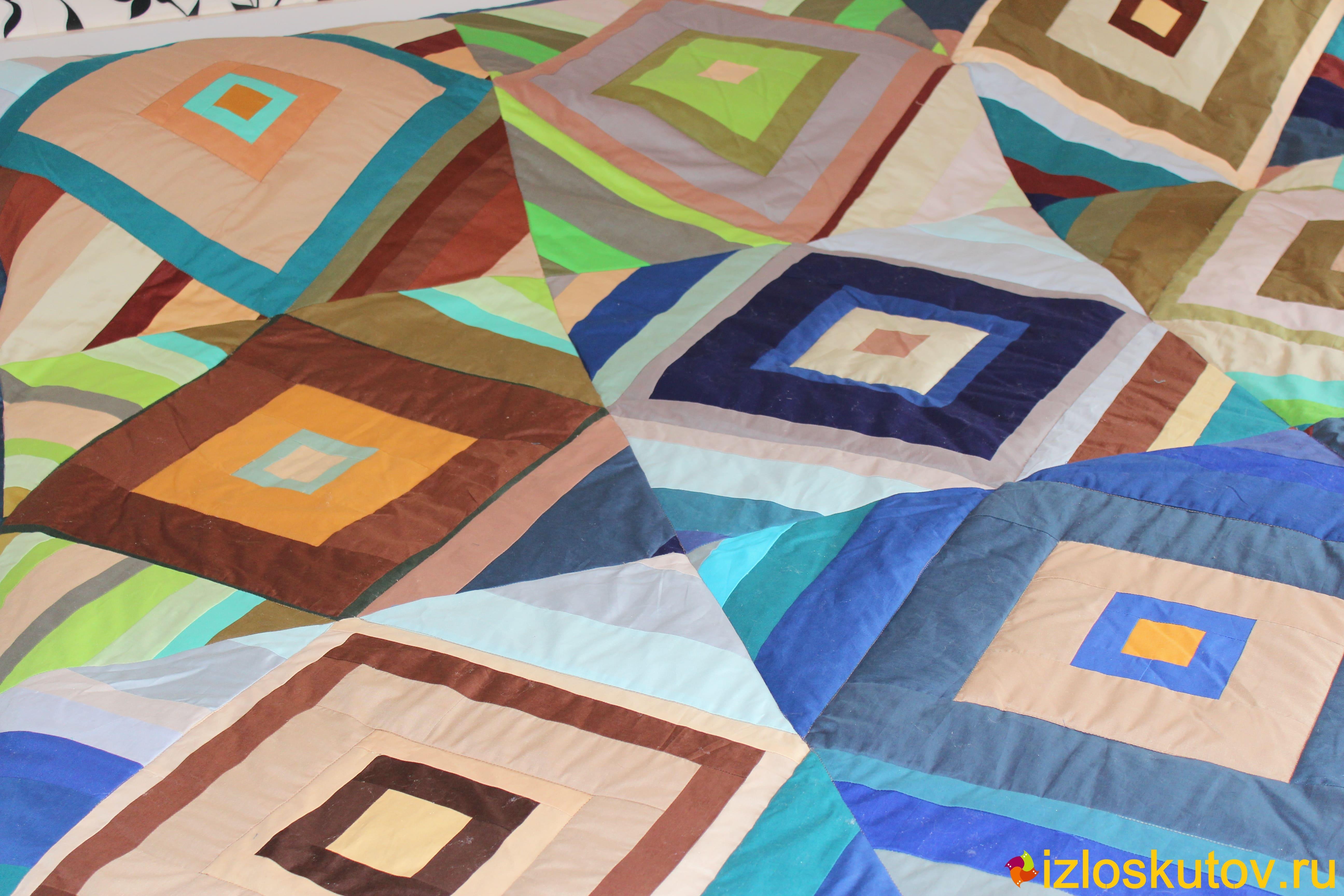 Схемы и фото лоскутного одеяла
