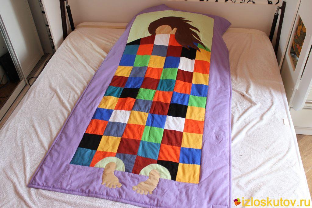 Пэчворк одеяло с купоном
