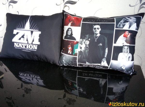 """Наволочка с фото """"ZM Nation"""" № 714"""