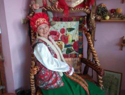"""Лоскутное панно """"Музей Яблочка в Хвалынске"""" № 519"""