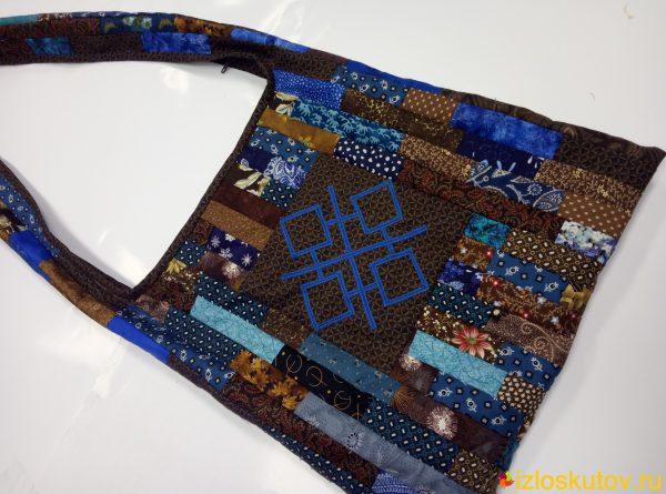 """Лоскутная сумка """"Макошь"""" № 617"""