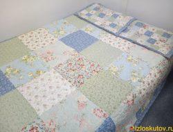 """Лоскутное одеяло """"Цветочное небо"""" № 559"""