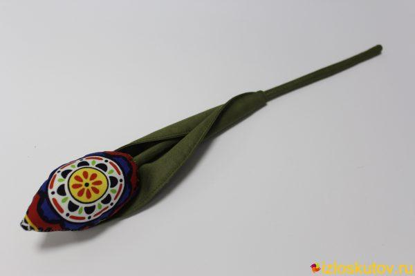 Тюльпан красно-синий № 538